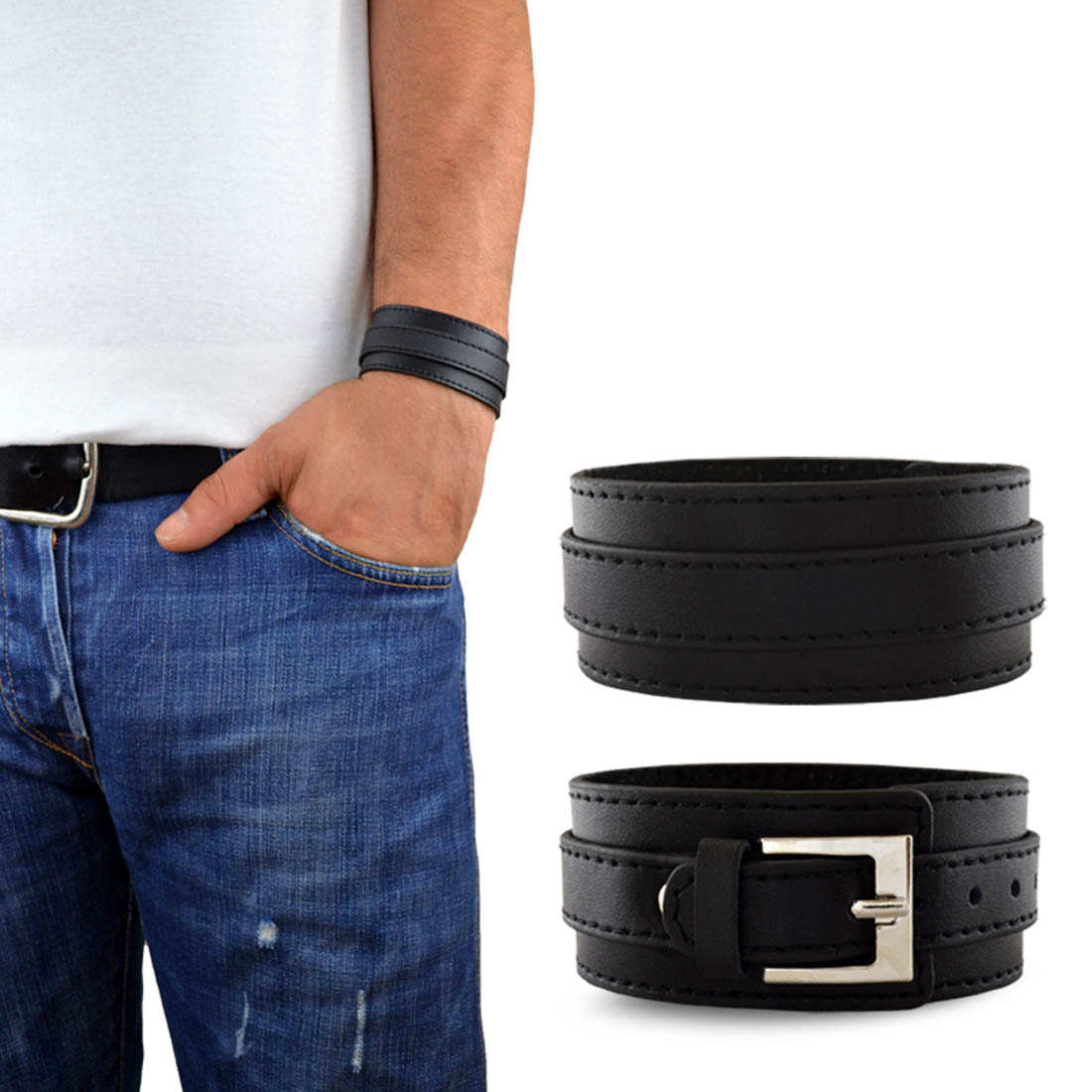 lederarmband herren. Black Bedroom Furniture Sets. Home Design Ideas