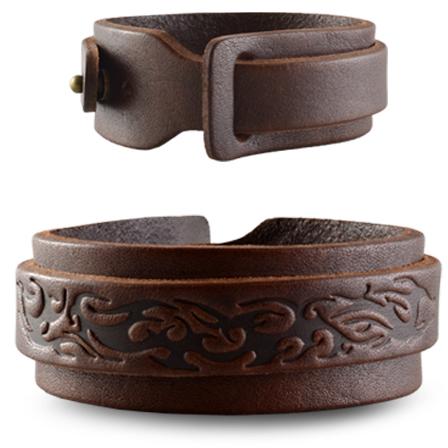 Lederarmband breit damen  Lederarmband Tribal Unisex Herren Damen breit NEU Armband | eBay
