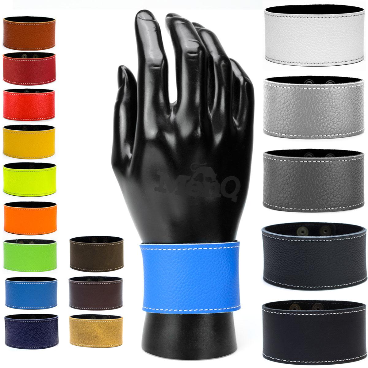Lederarmband breit  breit echt Leder Armband Regular Unisex