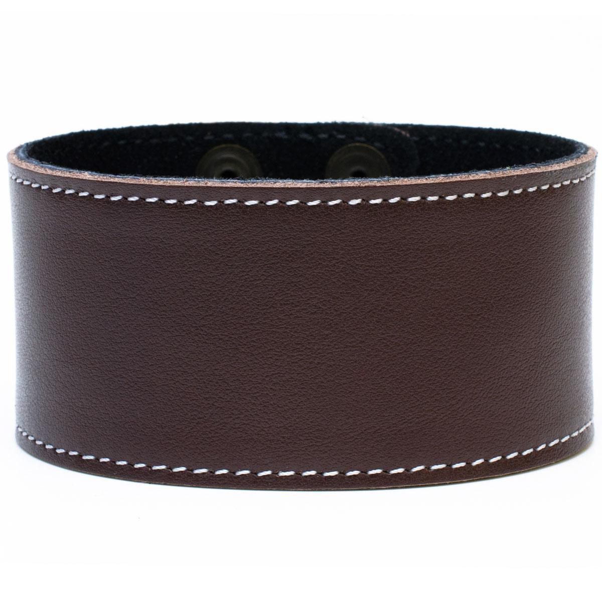 Lederarmband breit damen  Lederarmband breit echt Leder Armband Regular Unisex Braun