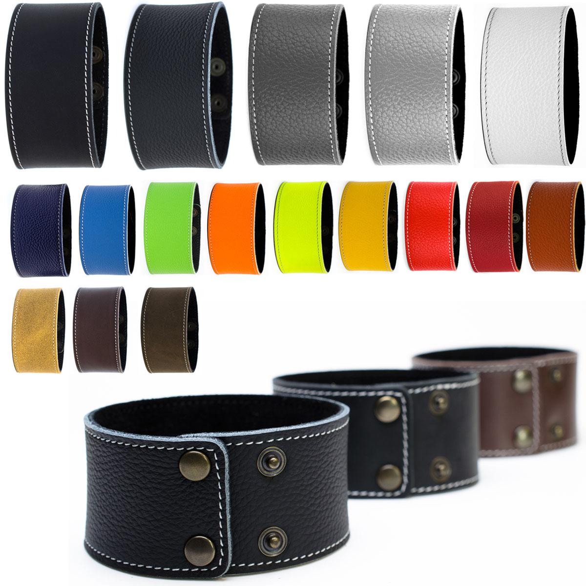 Lederarmband breit  Lederarmband breit echt Leder Armband Regular Unisex